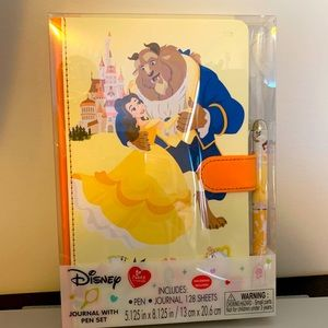 Disney Beauty and the Beast Journal/Pen